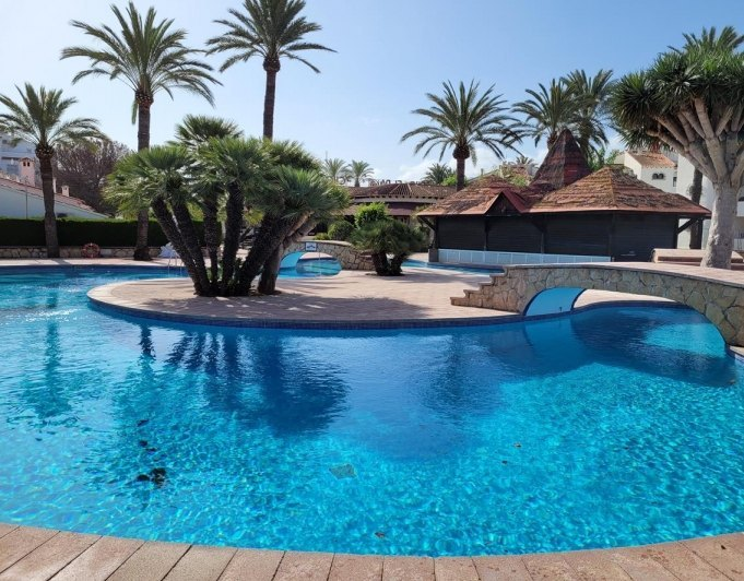 thumb Apt. Palmar, 400 m from the beach with a spectacular swimming pool